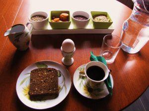 Aamupala auttaa iltasyömiseen